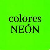 Colores NEÓN